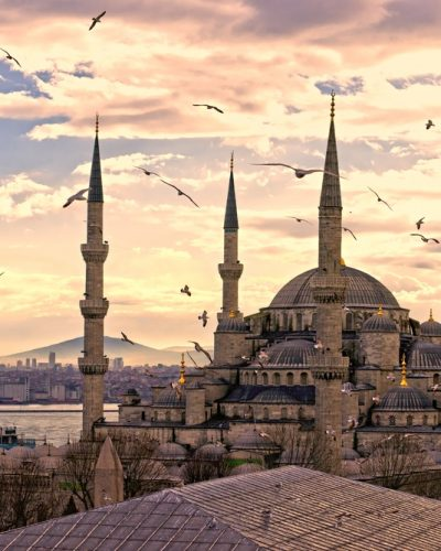 Blue Mosque- outside - Layover tours