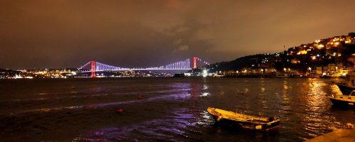 Bopshours Bridge where Asia and Europe meets